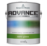 ADVANCE Waterborne Interior Alkyd Paint - Semi-Gloss Finish K793