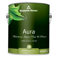 Aura Waterborne Interior Paint - Semi-Gloss Finish 528