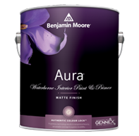 Aura Waterborne Interior Paint - Matte Finish 522