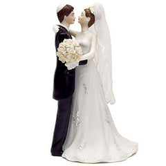 Jewish Bride and Groom Cake Topper
