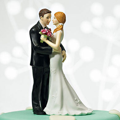 Dancing Couple Cheeky Squeeze Cake Topper
