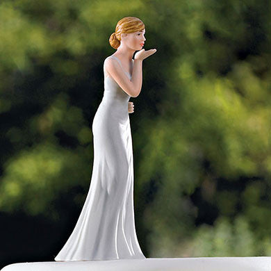 Wife Blowing Kisses Figurine