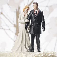 Winter Wonderland Cake Topper