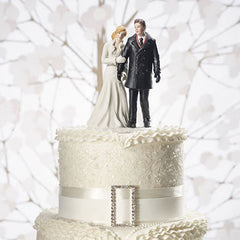 Winter Wonderland Cake Topper on Cake