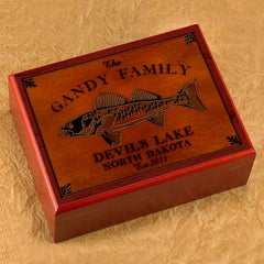 Personalized Cabin Series Humidor