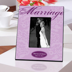 Personalized Marriage Picture Frame