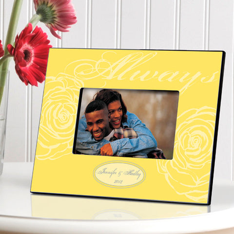Personalized Always Picture Frame