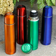 Personalized Sleek and Slim Thermos