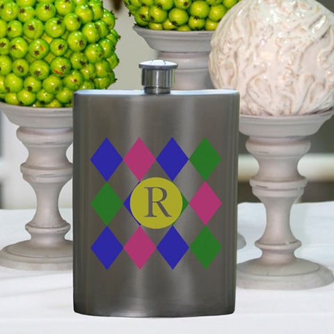 Personalized Diamonds Party Girl Flask
