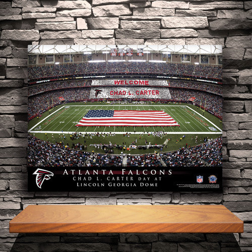 Personalized NFL Stadium Canvas Prints