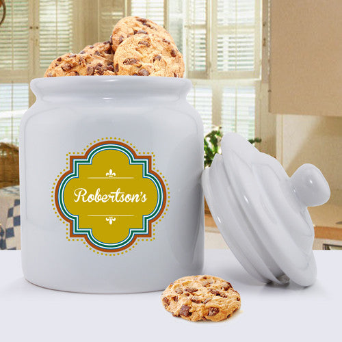 Personalized Ceramic Cookie Jars - Vintage