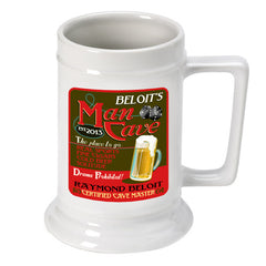 Personalized 16 oz. German Beer Stein