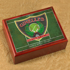 Personalized Trinidad Cigar Humidor