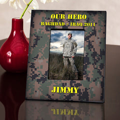 Personalized Military Camouflage Frame