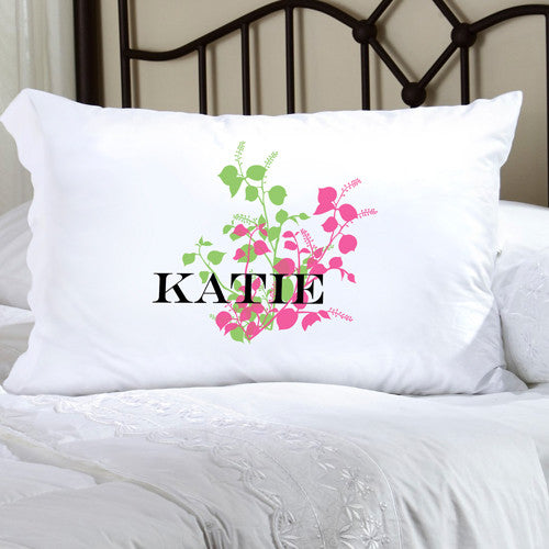 Personalized Felicity Graceful Nature Pillow Case