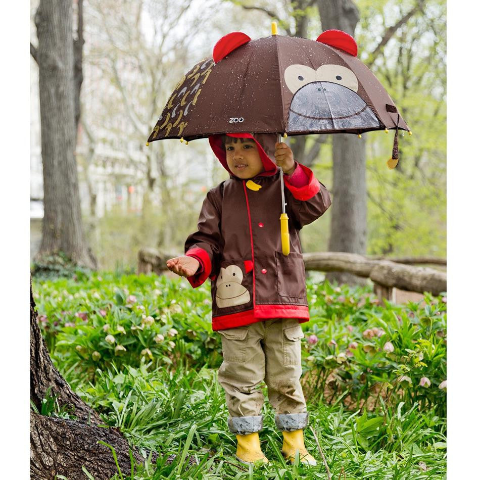 Zoo Little Kids Raincoat - Monkey, by Skip Hop
