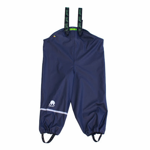 Kids Basic Waterproof Pants (Dark Navy) by Celavi Image