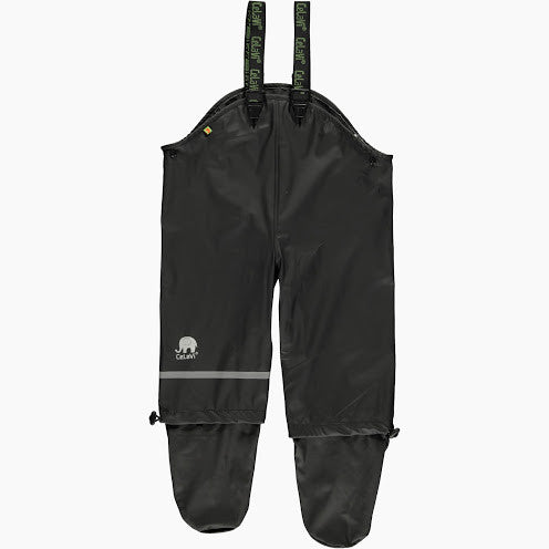 Crawler Waterproof Pants with Feet (Black), by Celavi