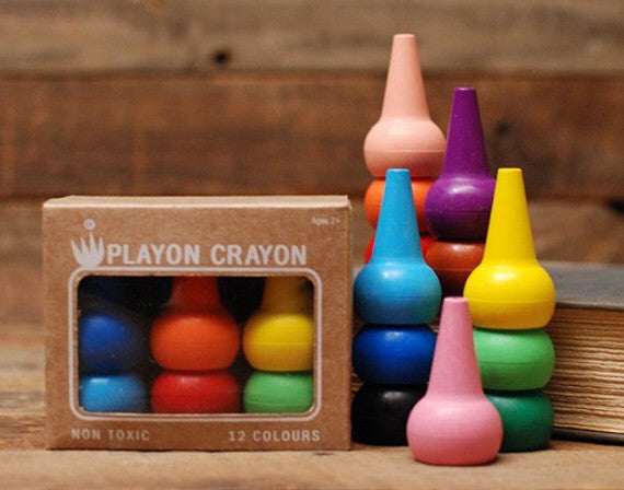 Playon Crayons (Primary Colours) by Studio Skinky