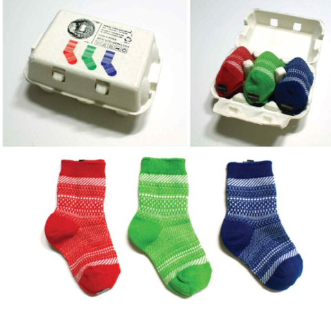 Toddler Socks (24-36 months) Set x 3 by Yarn-Works Baby