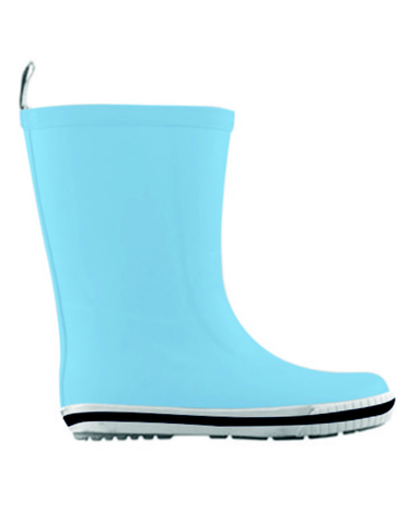 Kids Rubber Gumboots - Blue, by French Soda **REDUCED TO CLEAR