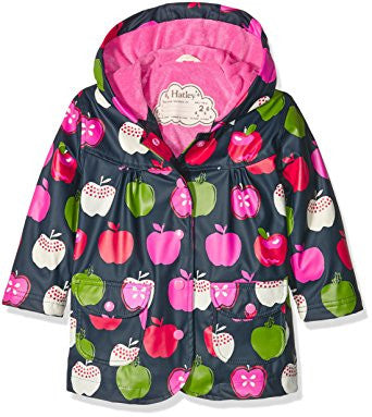 Nordic Apples Raincoat, by Hatley