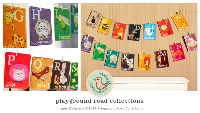 Flash Cards - ABC, by Playground Road Collections