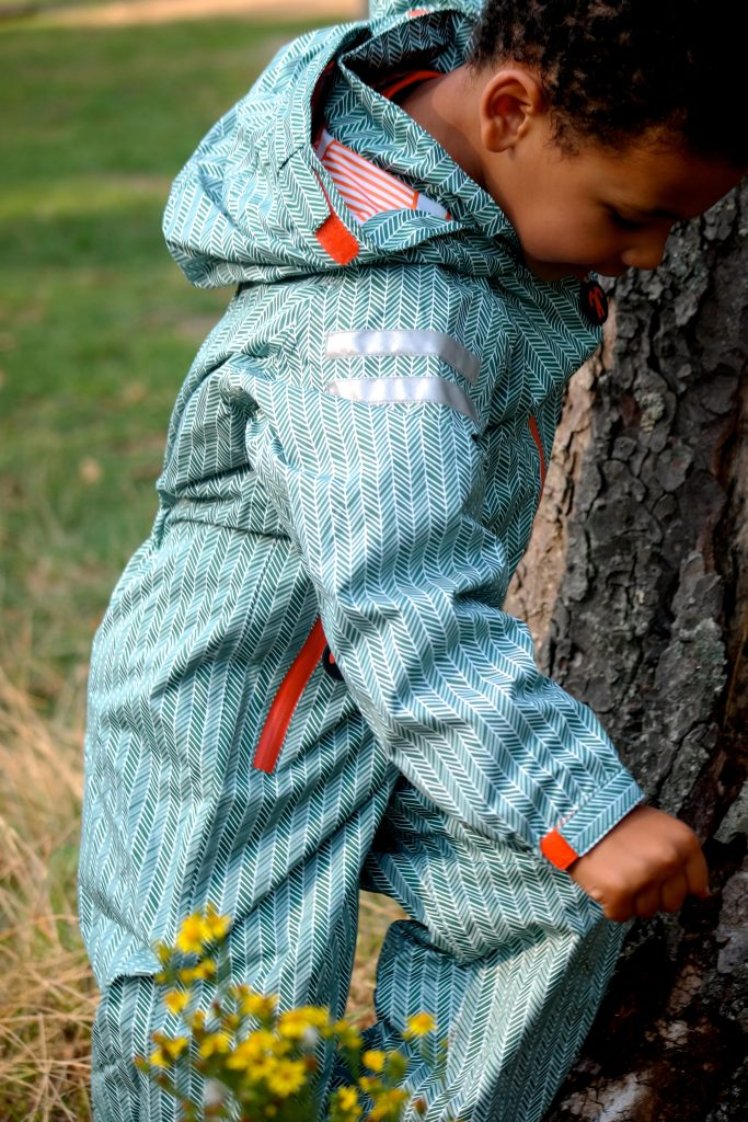 Boy Original Rainsuit in Manu by Ducksday