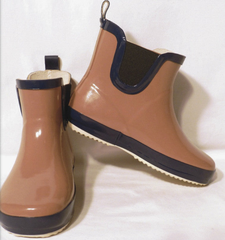 Toffee Utility Gumboots by Frankie and Lola Image