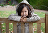 Girls Raincoat in Natural Leopard 4 Image
