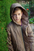 Boys Rain Jacket in Toffee 5 Image