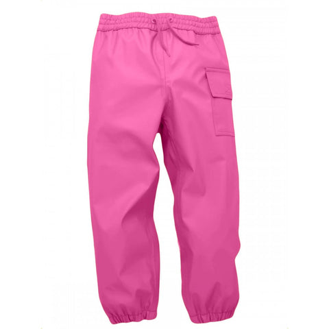 Kids Waterproof Splash Pants - Pretty Pink (Hot Pink), by Hatley