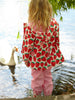 Hatley Girls Light Pink Waterproof Splash Pants Image
