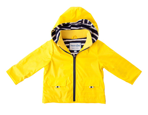Yellow Rainjacket, by French Soda