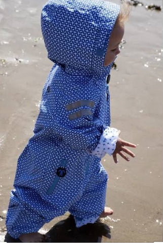 The Original Rainsuit (Funky Blue), by Ducksday ***LIMITED SIZES***