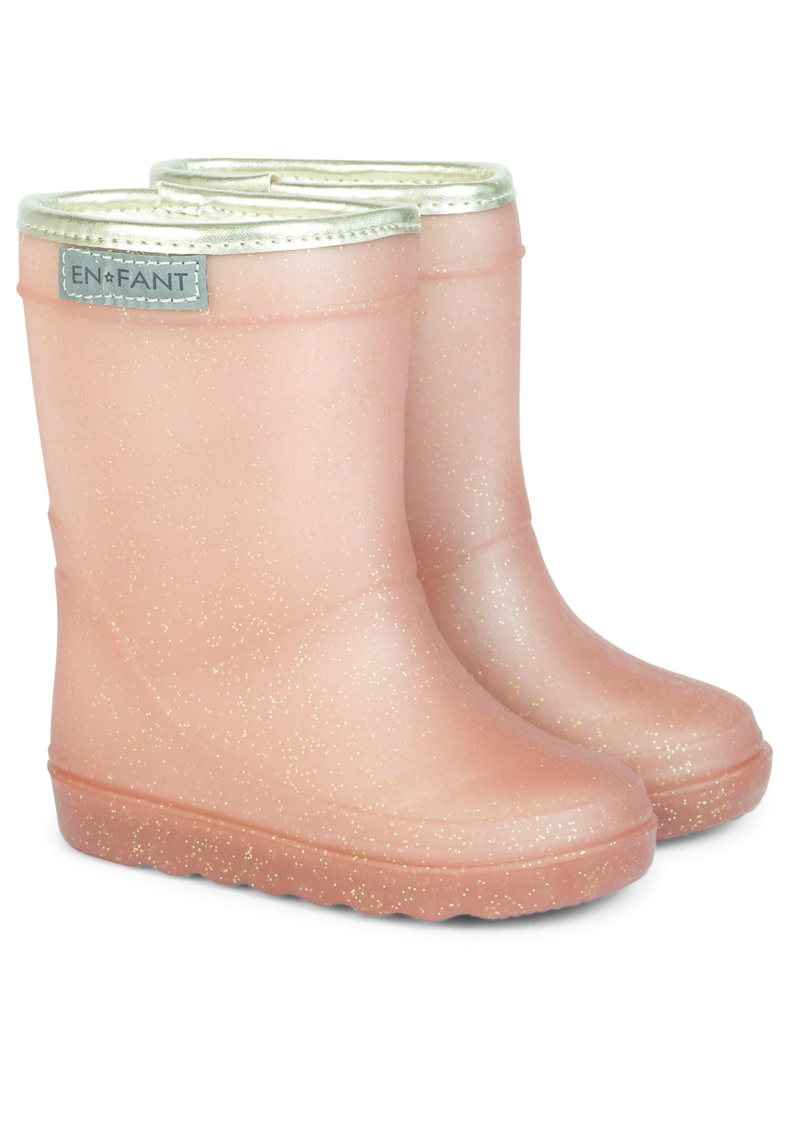 ***NEW*** Cameo Rose Pink Glitter Wellies / Gumboots, by EN FANT