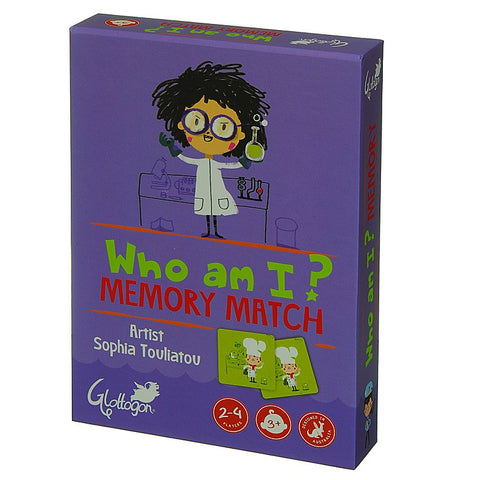 Memory Match Game, by Glottogon - Garden, Fairytale or Who am I?