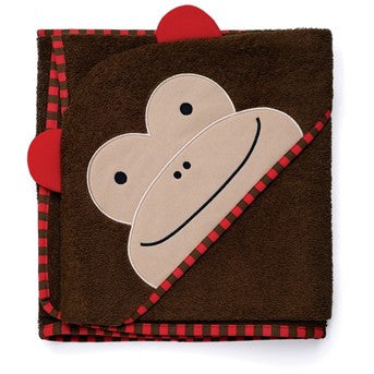 Zoo Hooded Towel - Monkey, by Skip Hop