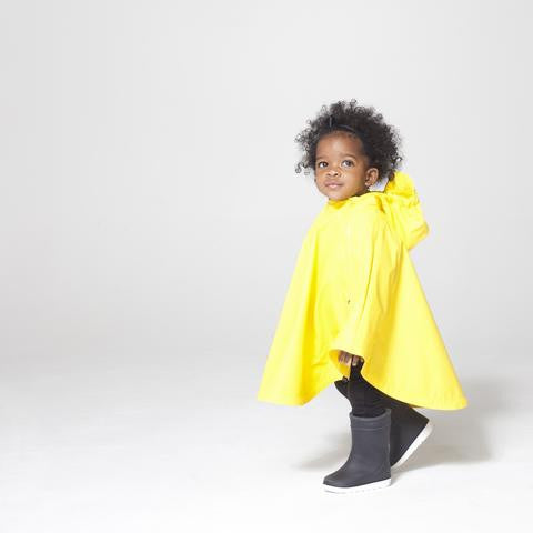 Crouching Tiger Cape/Poncho in Yellow, by GoSoaky