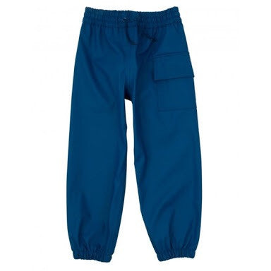 Hatley Kids Navy Waterproof Splash Pants