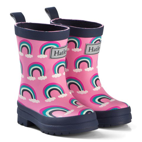 Rainbow Gumboots, by Hatley