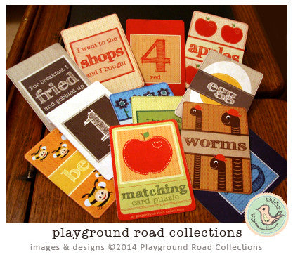Matching Card Puzzle, by Playground Road Collections