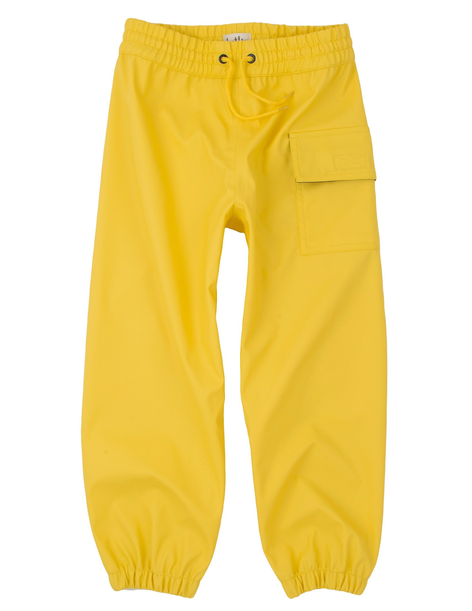 Hatley Kids Yellow Waterproof Splash Pants