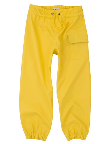 Kids Waterproof Splash Pants - Yellow, by Hatley