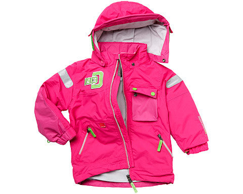 Sage Kids Jacket (Fuschia) by Didriksons