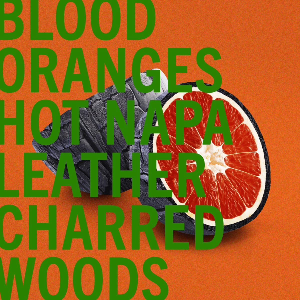 Blood Oranges Fragrance 30ml | Zesty blood oranges with rich and sensual blend of  woods and smoky leather. | Clean All Gender Fragrance | Shay & Blue