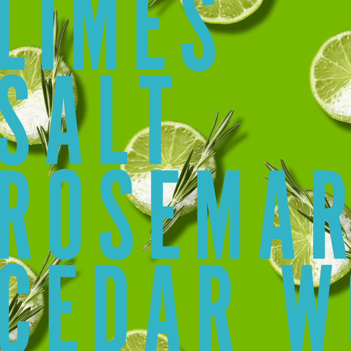 Sicilian Limes Fragrance 10ml | Tangy limes with a happy-hour hit of a salty margarita, rosemary and moss | Clean All Gender Fragrance | Shay & Blue