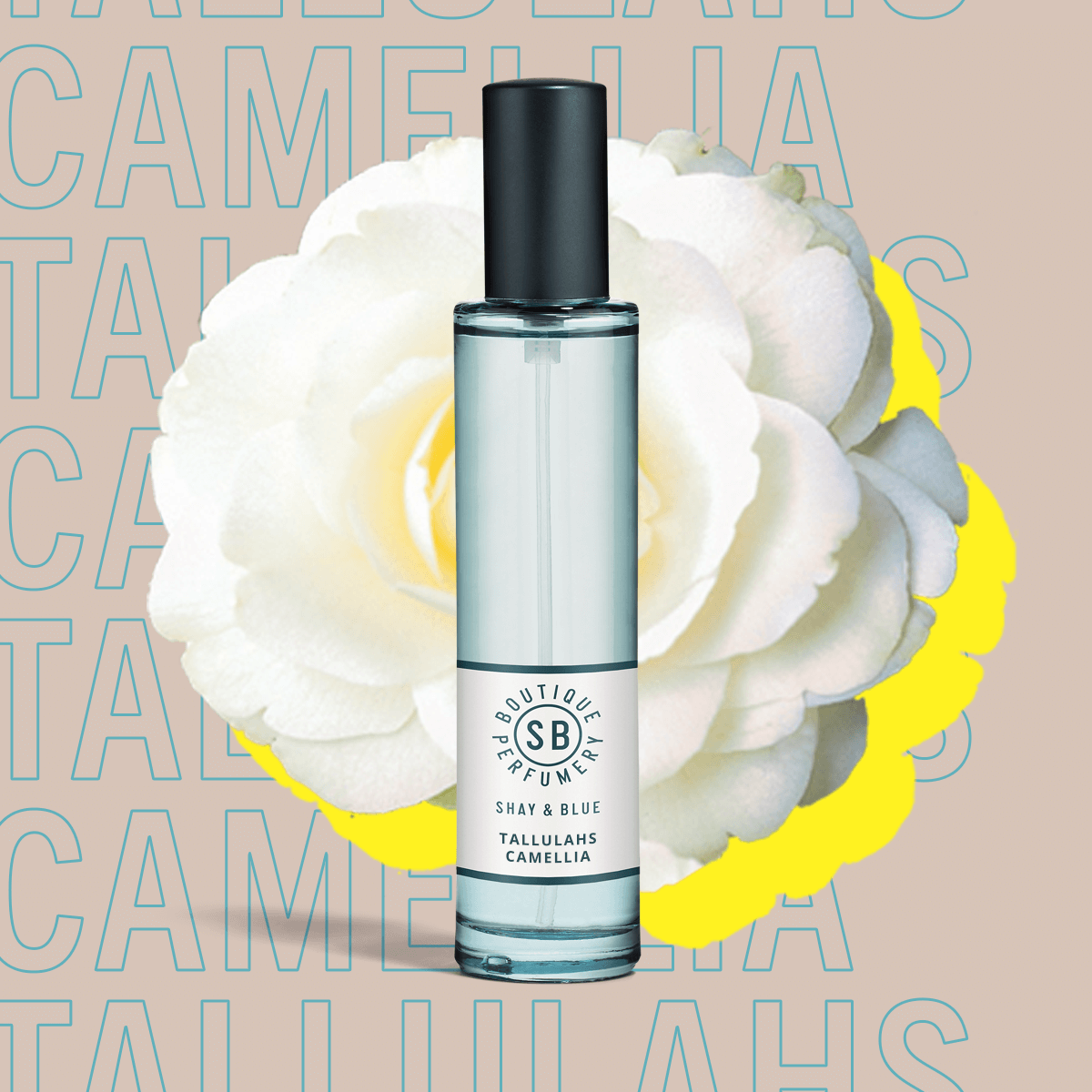 Tallulahs Camelia Fragrance 30ml | Elegant bluebells with the soft whisper of white flowers. | Clean All Gender Fragrance | Shay & Blue