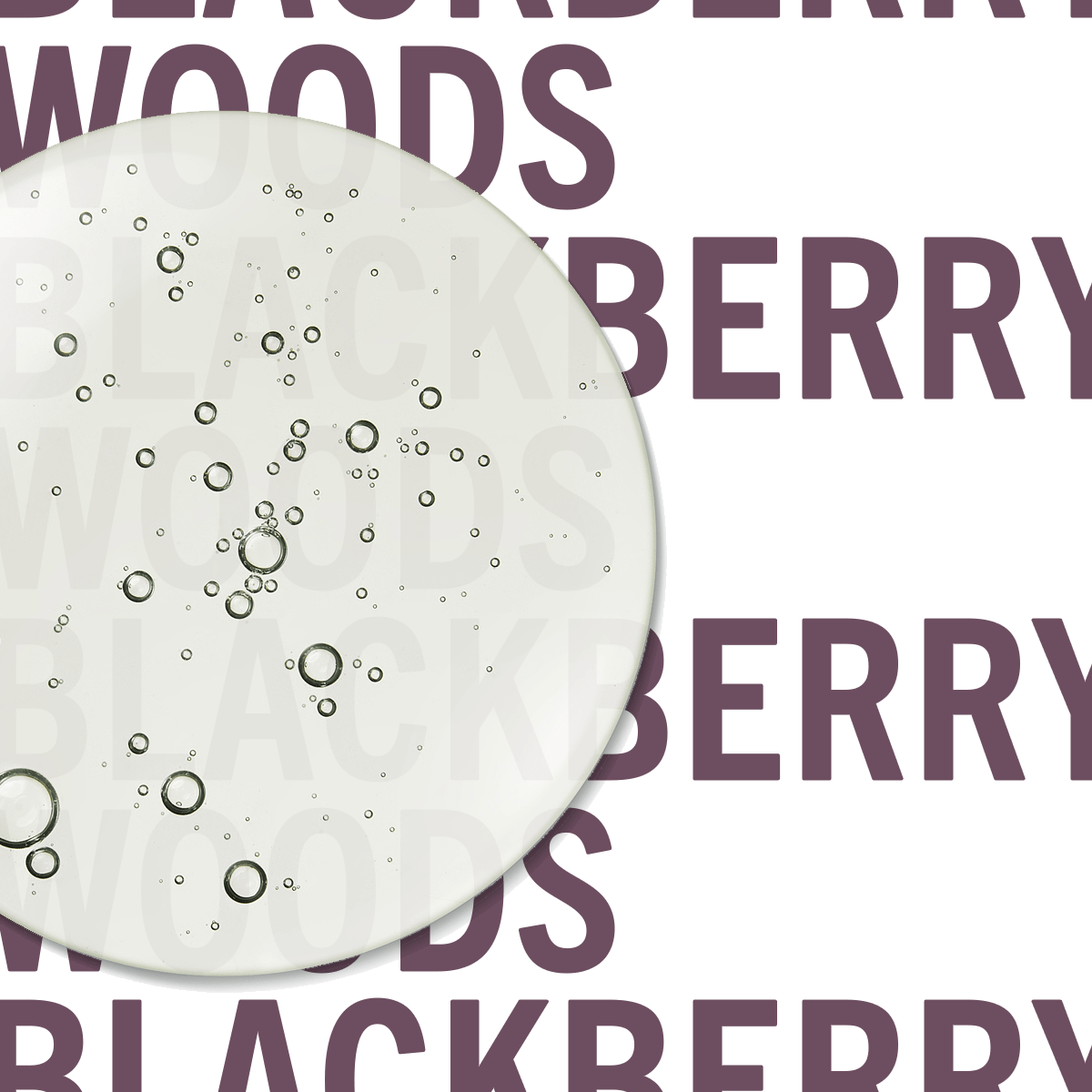 Blackberry Woods Hand Sanitiser 100ml | Glossy berry juice with punk-sharp citrus. | Clean All Gender Fragrance | Shay & Blue