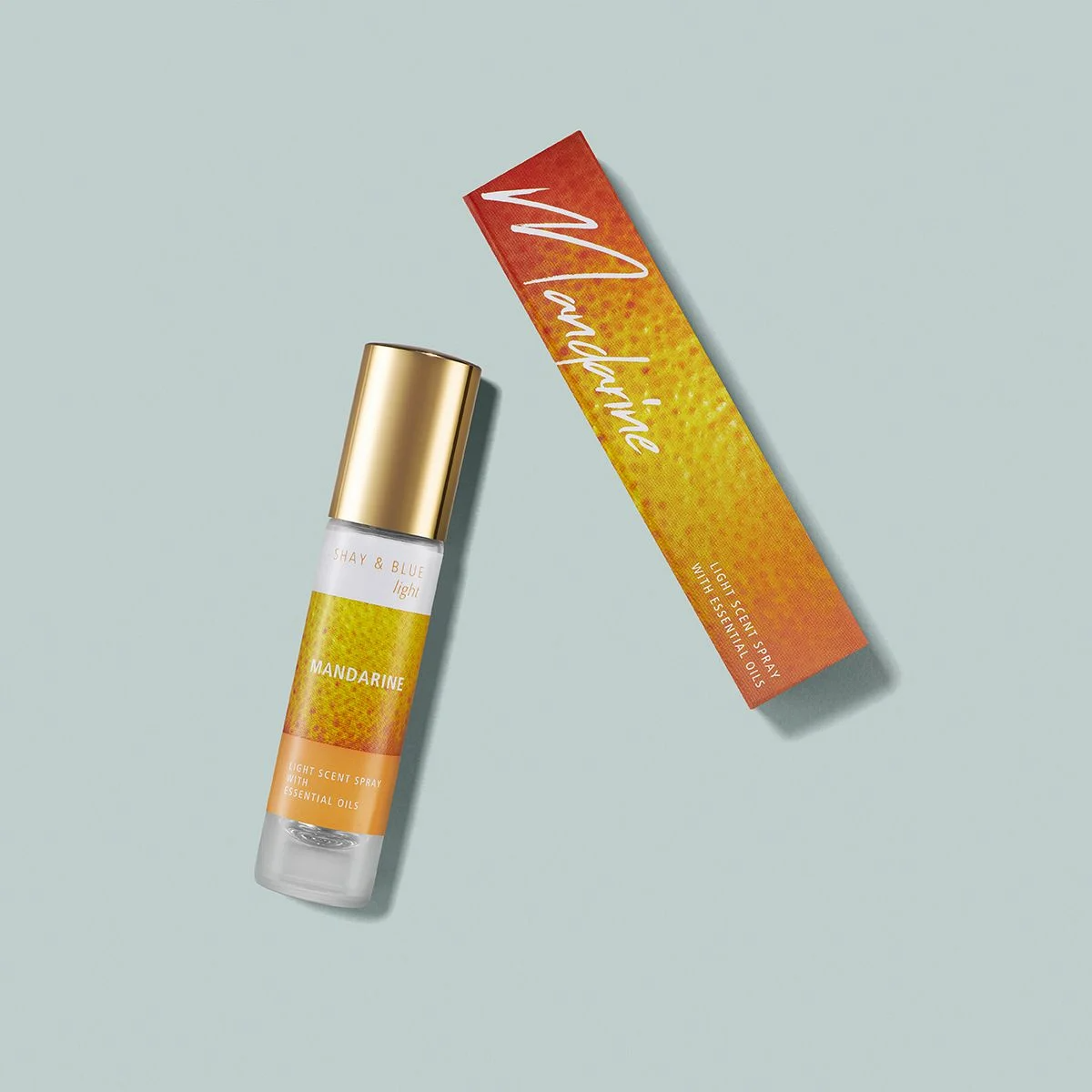 Mandarine Lite Fragrance 10ml | Clean citrus mix of fresh mandarin and pomelo. | Clean All Gender Fragrance | Shay & Blue